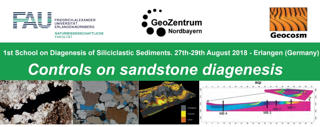"Zum Artikel ""1st School on Diagenesis of Siliciclastic Sediments"""